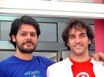 Rafa y Ricardo en su reciente visita a Tenerife