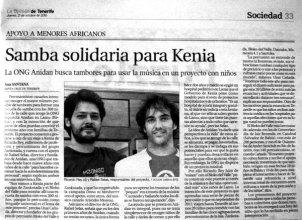 Rafa y Ricardo en La Opinion
