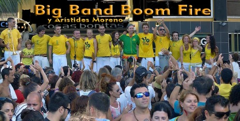 Big Band Boom Fire y su TRIO en el MUECA 2013