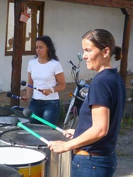 Mª José y Erika