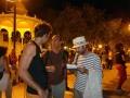 Unai, director del concurso con Nani y Gustavo, el jurado.