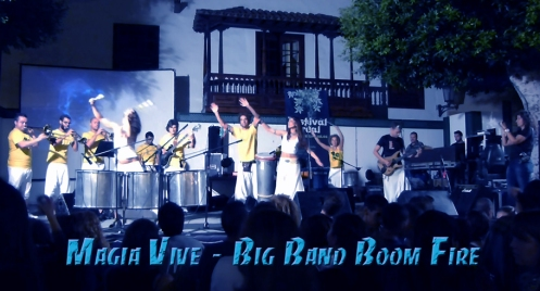 MAGIA VIVE de la Big Band Boom Fire
