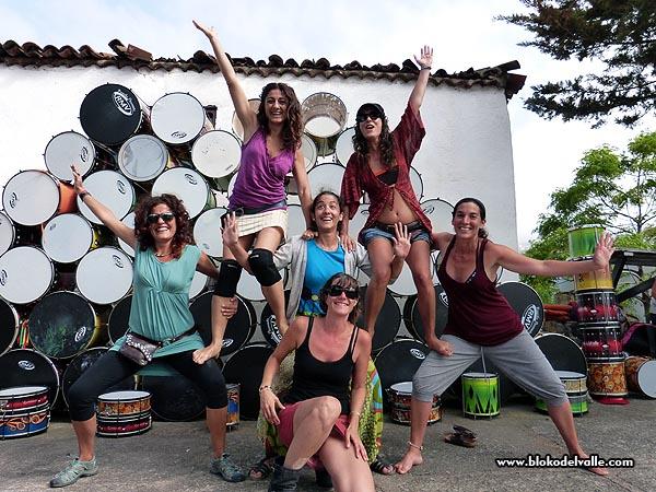 Fiesta en el Bloko del Valle, con Brincadeira, organizadores de Mueca e invitados de REDELAE (3/6)