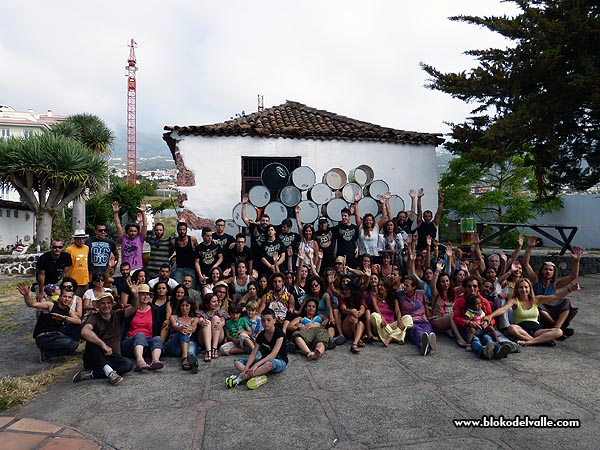 Fiesta en el Bloko del Valle, con Brincadeira, organizadores de Mueca e invitados de REDELAE (1/6)