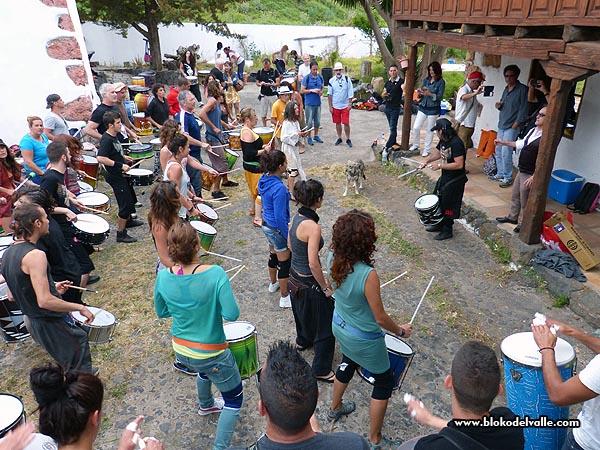 Fiesta en el Bloko del Valle, con Brincadeira, organizadores de Mueca e invitados de REDELAE (6/6)