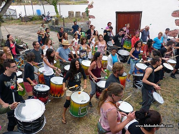 Fiesta en el Bloko del Valle, con Brincadeira, organizadores de Mueca e invitados de REDELAE (5/6)