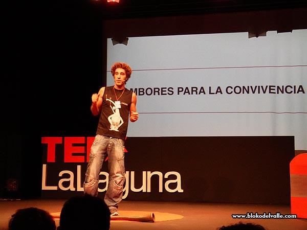 Unai Cañada, de Bloko del Valle, en las charlas TEDx La Laguna - 2015